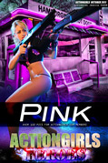Actiongirls Hero Jessica Vaugn Pink Photo Layout & Zip