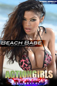Actiongirls Hero Armie Beach Babe Photo Layout & Zip