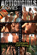 Actiongirls Cliff Diving Movie