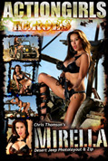 Actiongirls Hero Mirella Desert Jeep Photo Layout & Zip