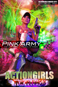 Actiongirls Hero Thao Pink Army Photo Layout & Zip