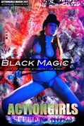 Actiongirls Hero Hana Black Black Magic Photo Layout & Zip