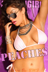 Actiongirls Recruits Peaches Pink Babe Photo Layout & Zip