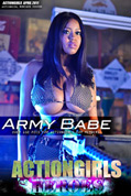Actiongirls Hero Monique Army Babe Photo Layout & Zip