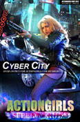 Actiongirl Jessica Cyber City Photo Layout & Zip