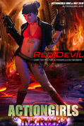 Actiongirls Hero Ash Red Devil