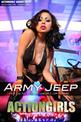 Actiongirls Hero Caroline Army Jeep Photo Layout & Zip