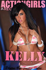 Actiongirls Recruits Kelly Pink Stripes Photo Layout & Zip