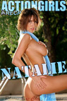 Actiongirls Recruits Natalie Blue Scarf Photo Layout & Zip